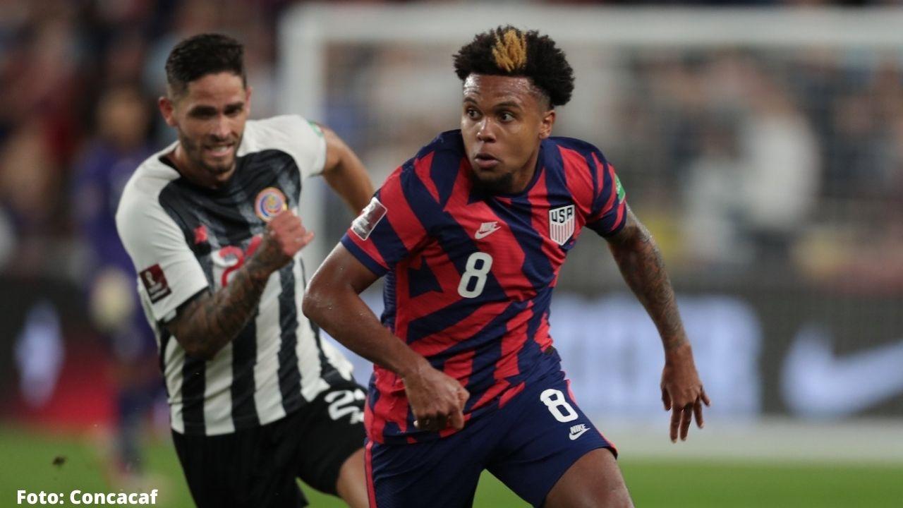Estados Unidos tuvo victoria de remontada por 2-1 a Costa Rica que los acerca de nuevo a la cima de las eliminatorias del Mundial de la Concacaf
