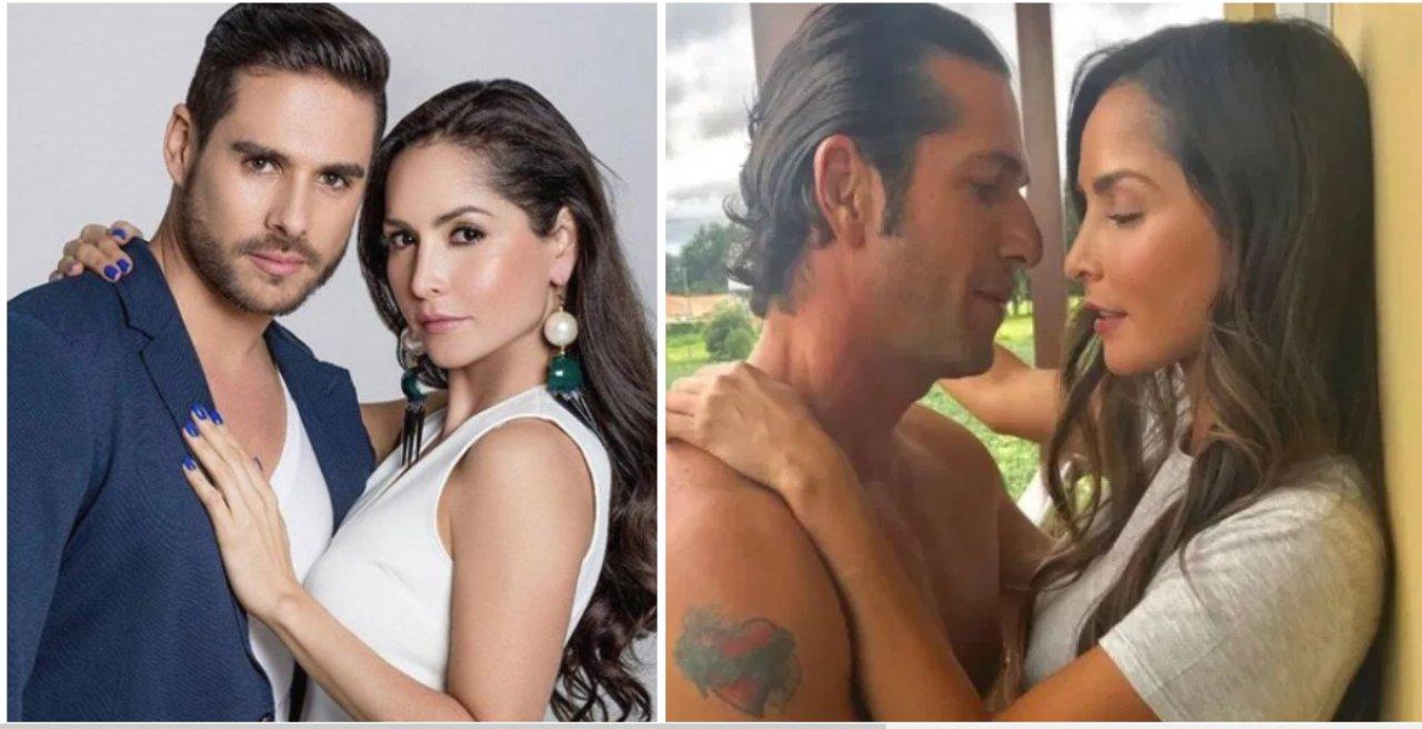 """Carmen Villalobos revela lo que le dijo a su esposo sobre el apasionado beso que grabó con """"El Titi"""""""