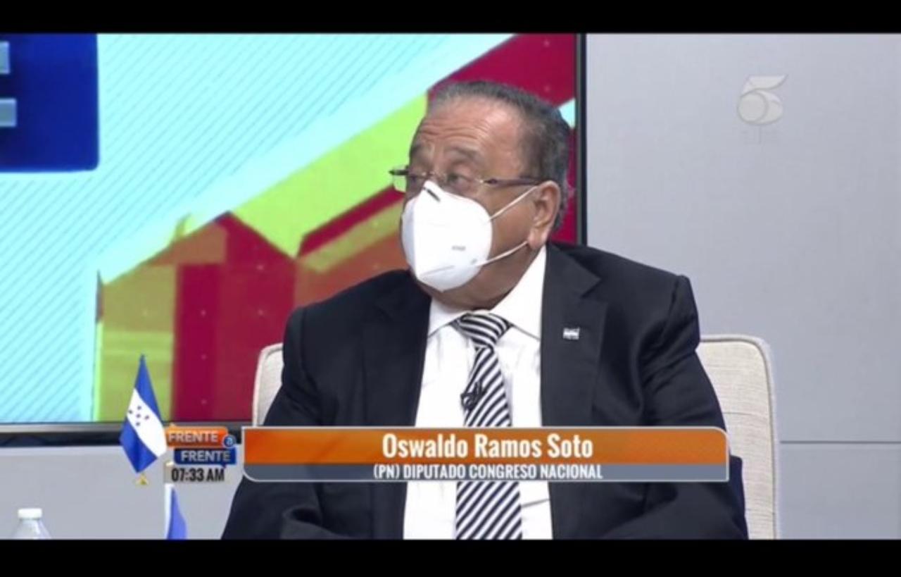 Oswaldo Ramos Soto: advierte que seria una irresponsabilidad del Congreso Nacional aprobar una nueva Ley Electoral en estos tiempos