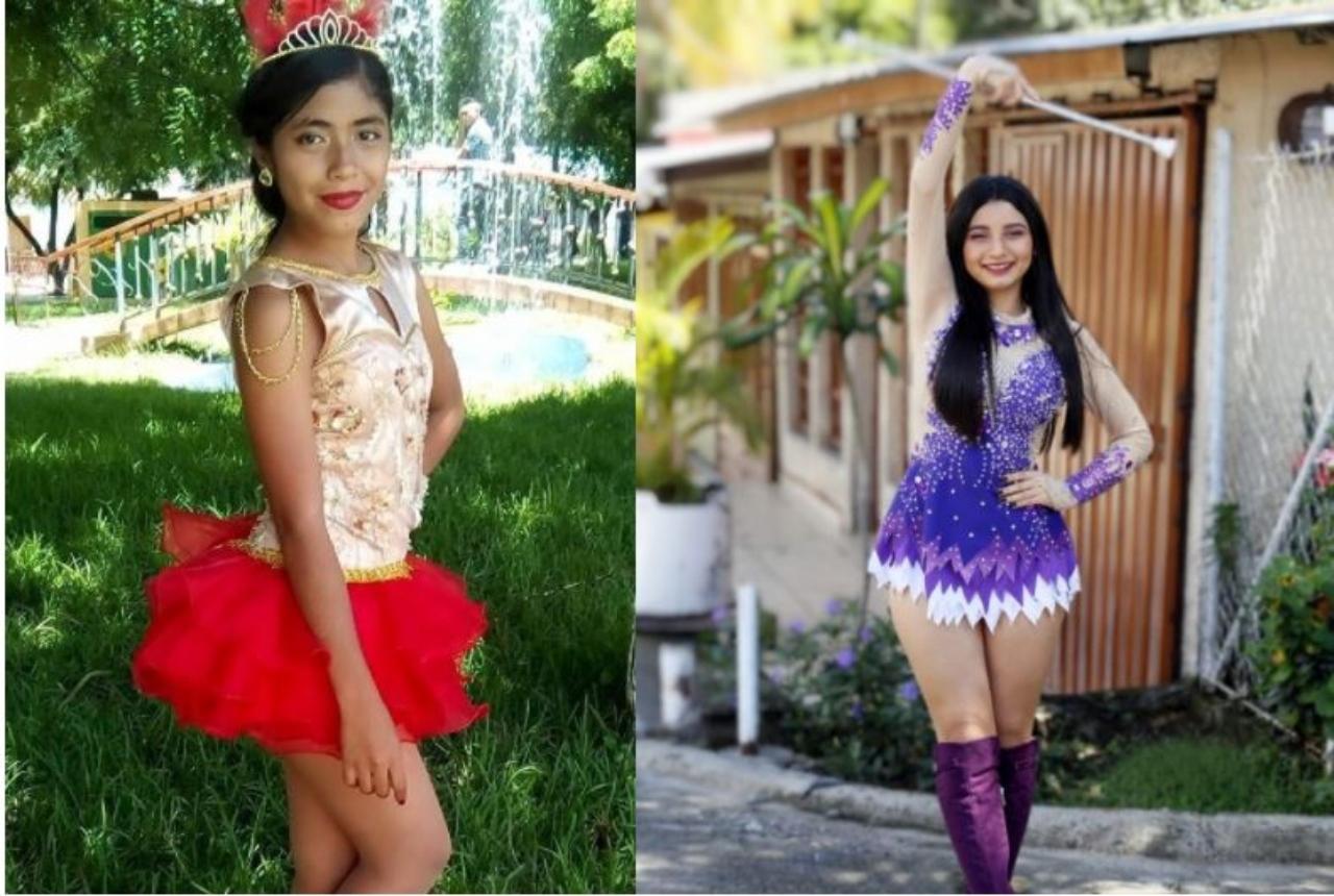 Ellas son las palillonas ganadoras del desfile virtual en honor a la independencia de Honduras 2020