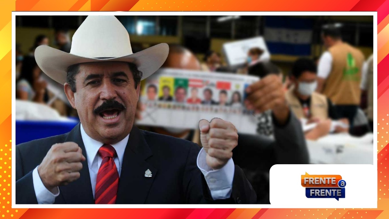 Frente a Frente: 'Busquemos una salida  porque no vamos a parar las elecciones', Manuel Zelaya Rosales