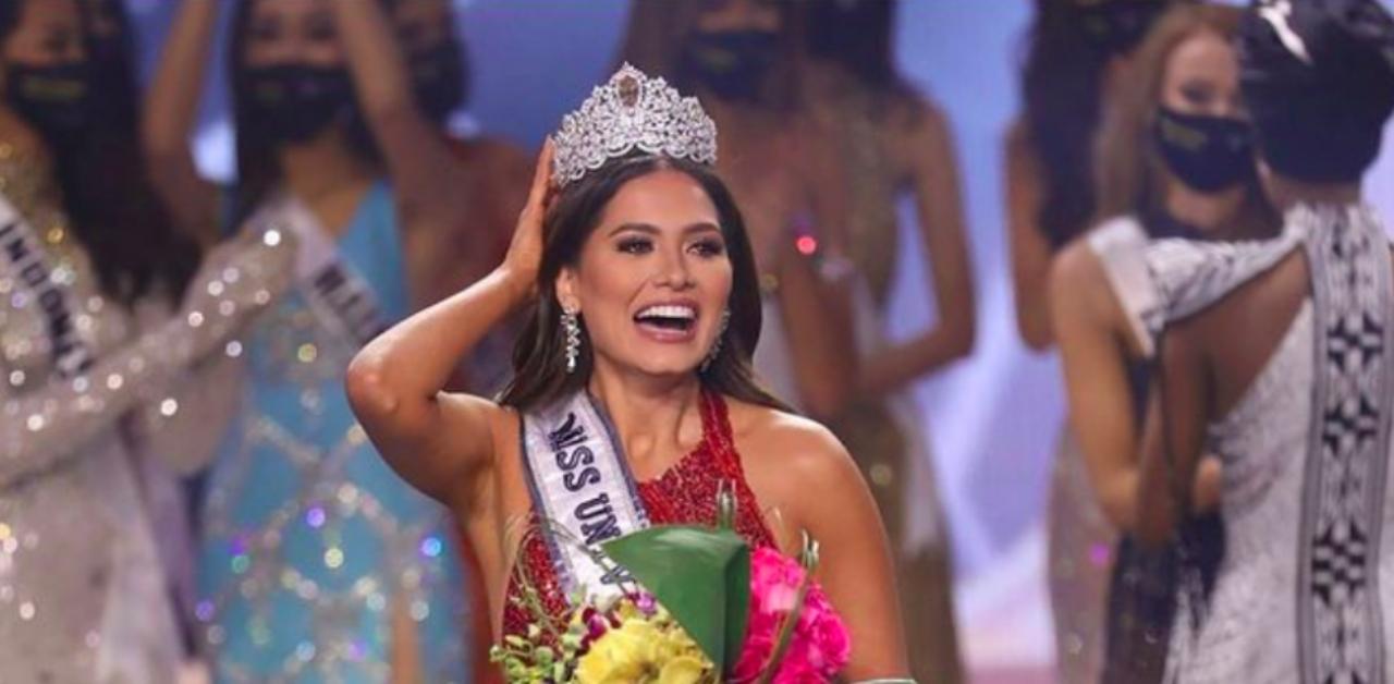 La mexicana Andrea Meza se coronó como la nueva Miss Universo