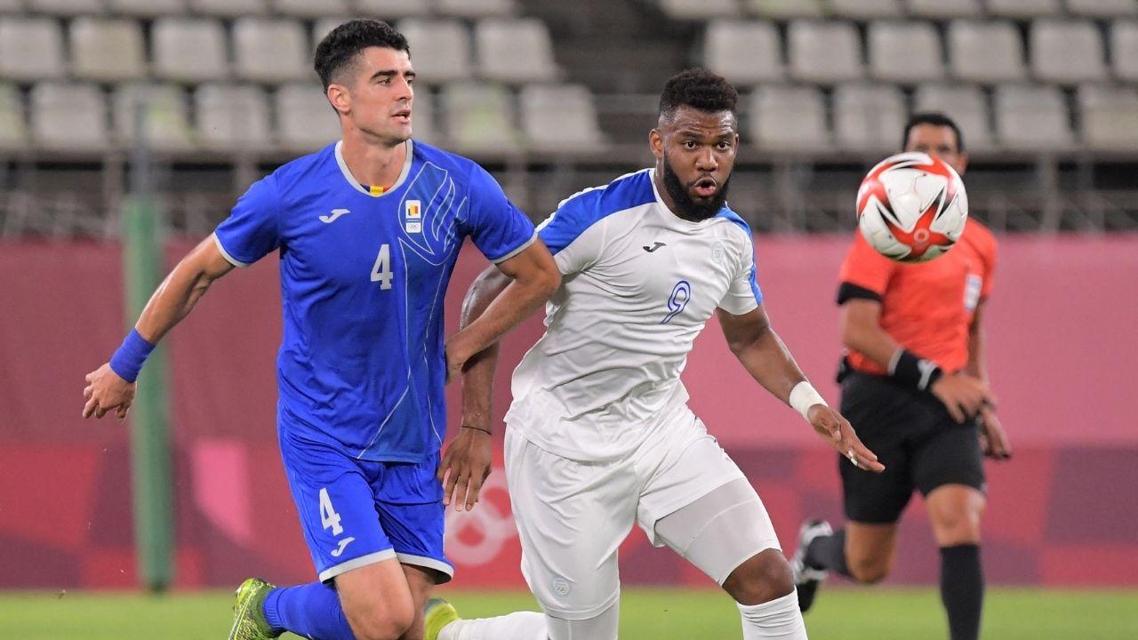 Honduras perdió 0-1 ante Rumania en su debut en Tokyo 2020
