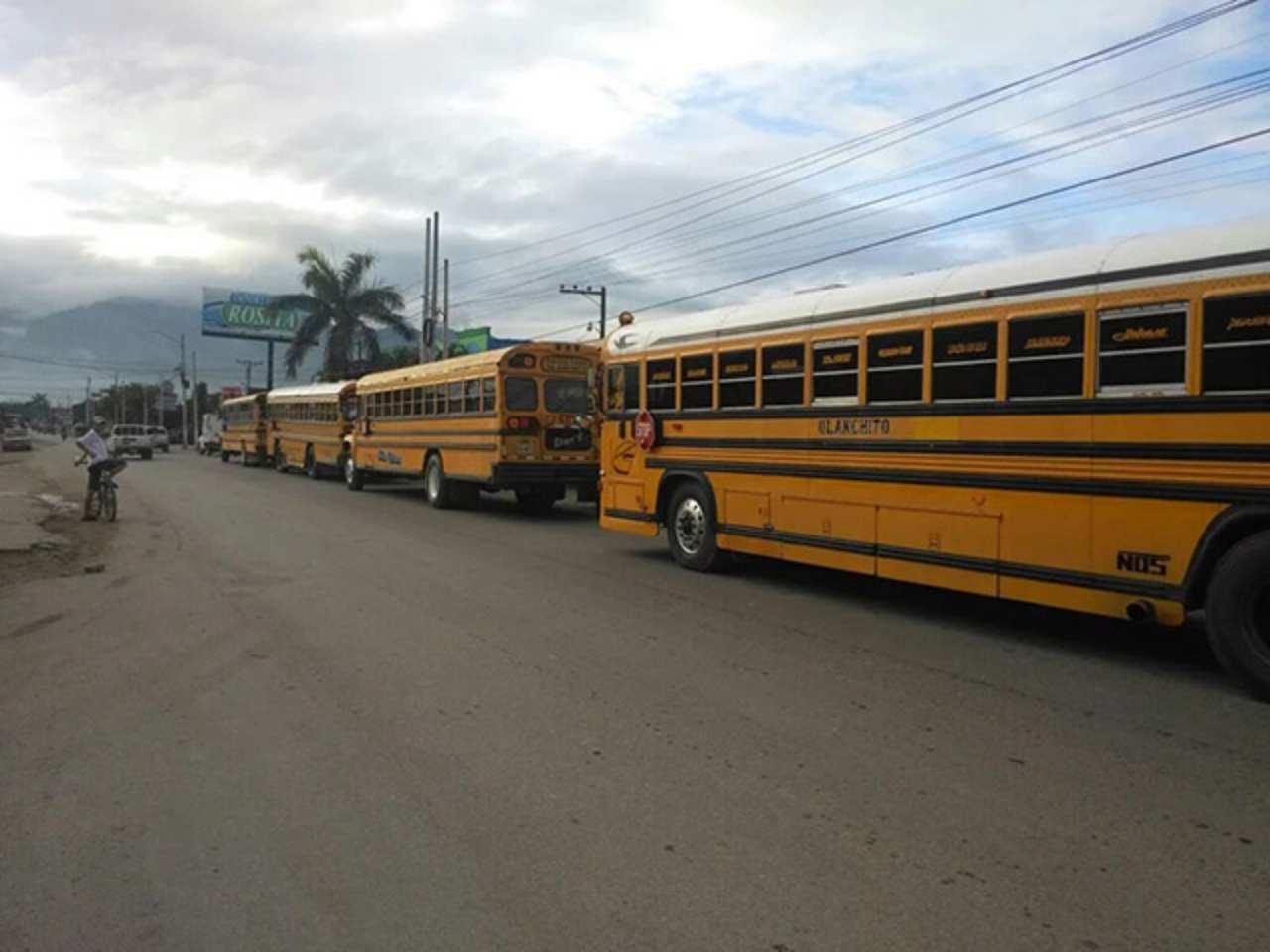 Hay paro de transporte en Honduras, estas zonas permanecen bloqueadas este jueves