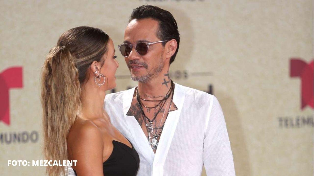 Marc Anthony presume a su nueva novia en los Latin Billboard 2021