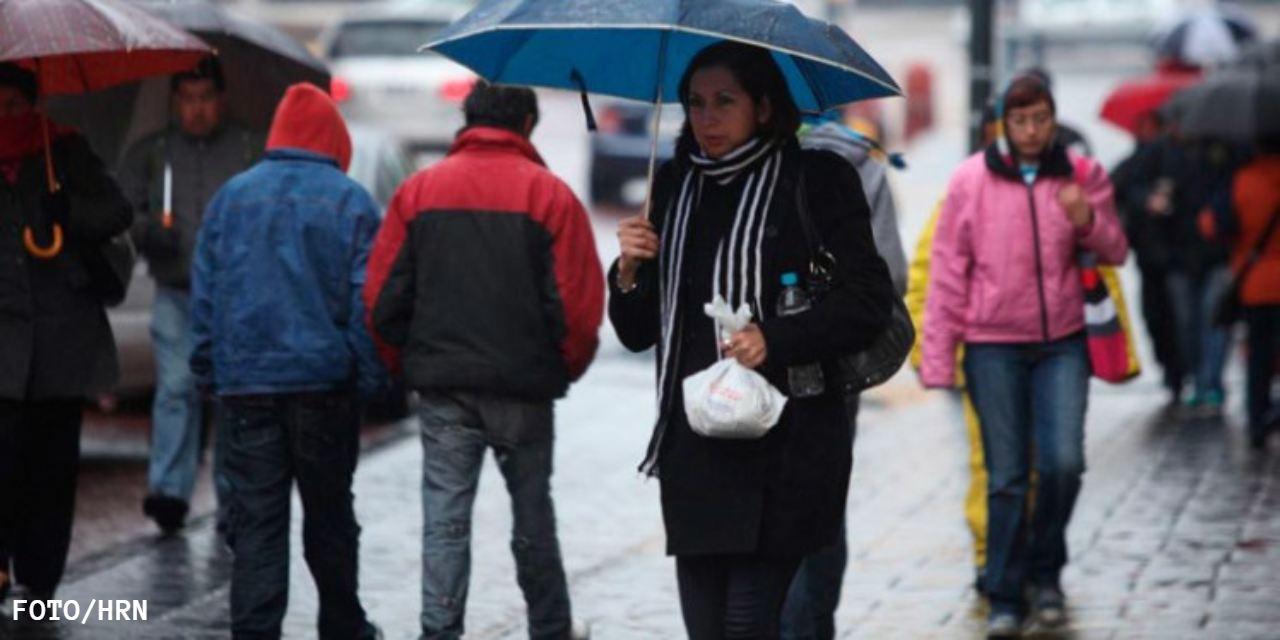 Frente Frío y onda tropical dejarán lluvias en Honduras