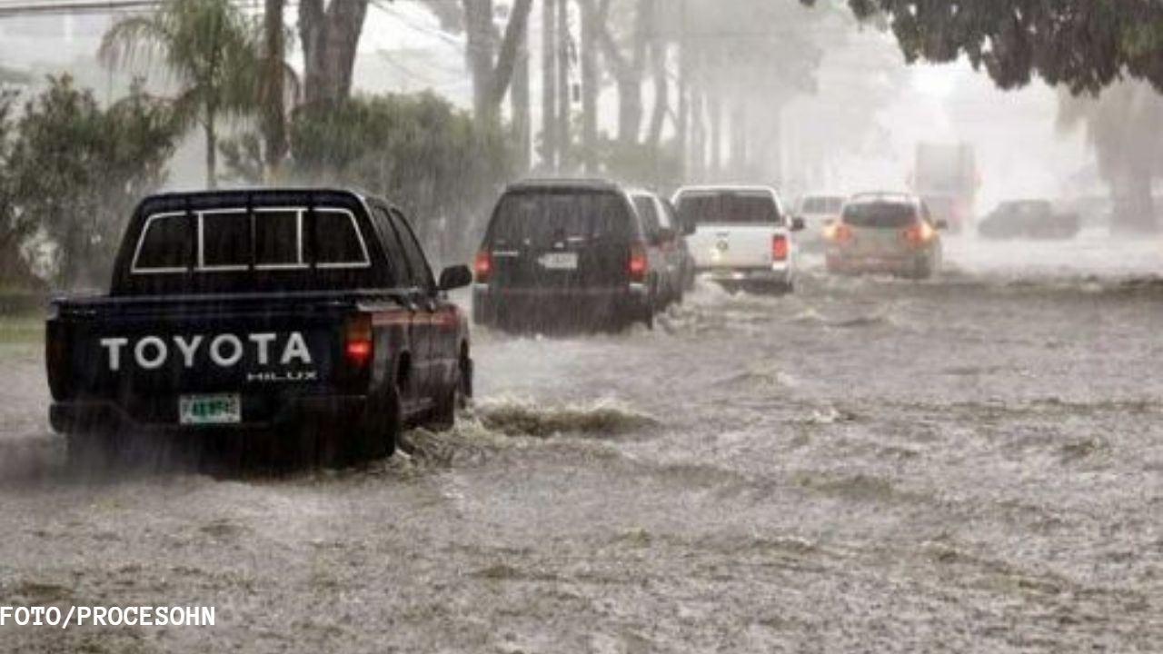 Lluvias continuarán  registrándose en territorio hondureño  producto de una onda tropical