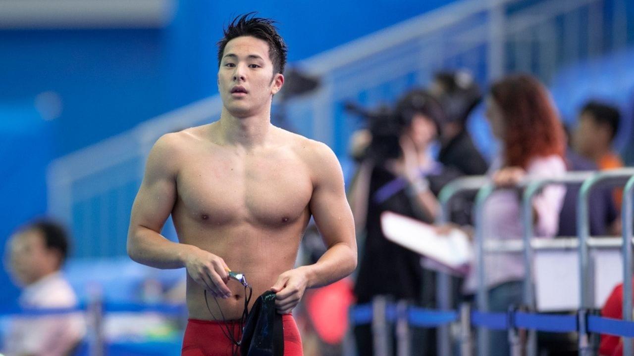 Suspenden a estrella de la natación japonesa por serle infiel a su esposa