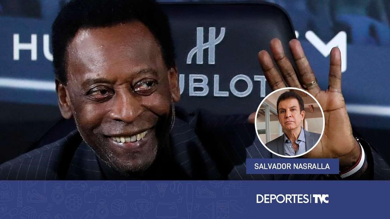 Salvador Nasralla recuerda el cumpleaños de Pelé y dice quién es, para él, el mejor jugador de la historia
