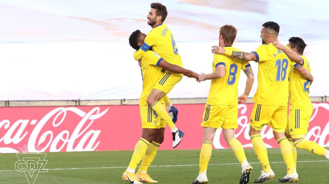 ¡A lo catracho! Con gol de Lozano, Cádiz vence al Real Madrid previo al clásico ante el Barcelona