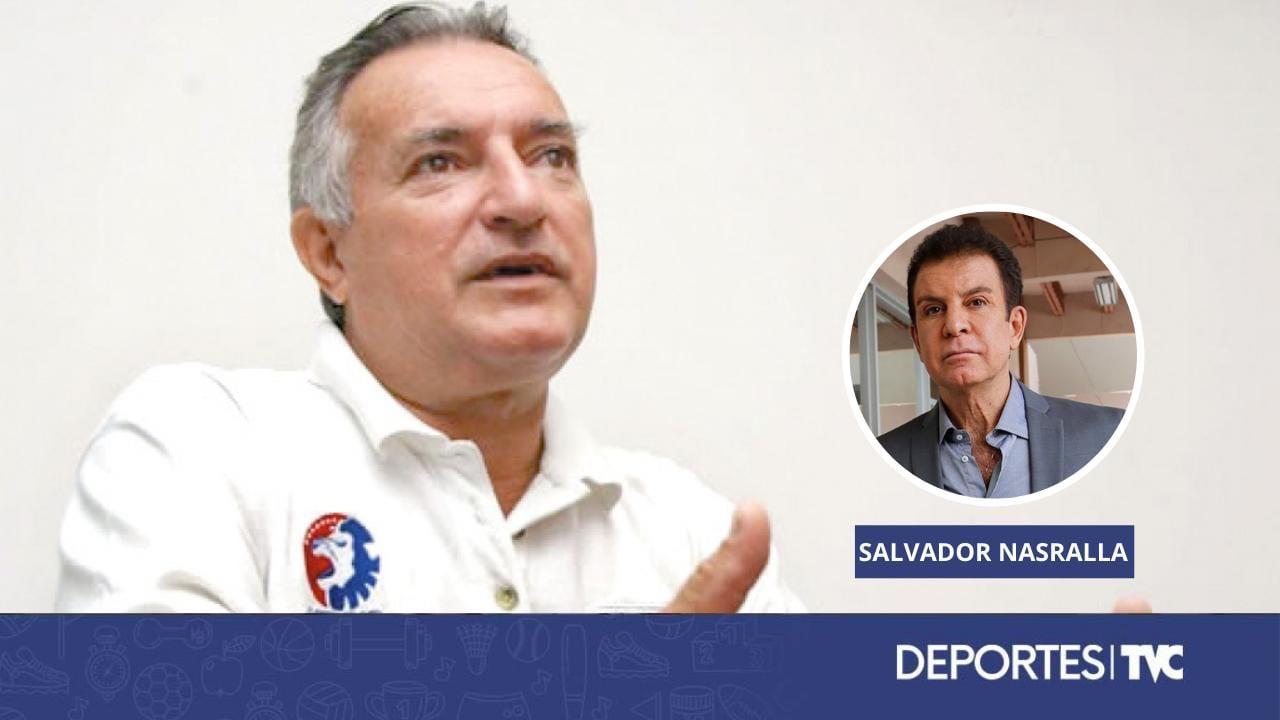 Salvador Nasralla recuerda a un ídolo de antaño de Olimpia y el principal formador de David Suazo