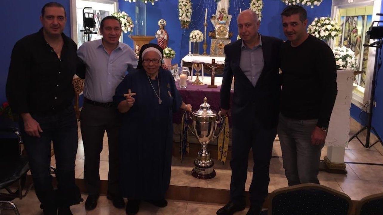 Motagua despide a una de sus más grandes aficionadas, sor María Rosa