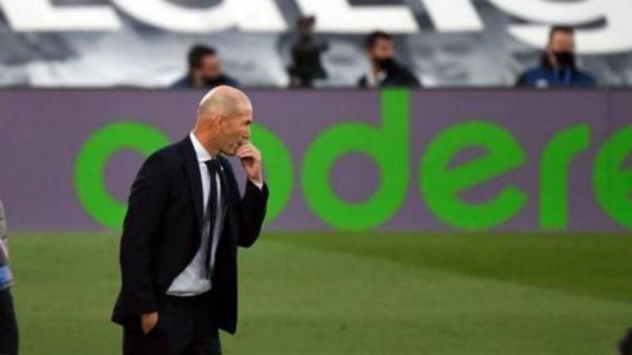 Zinedine Zidane: es un día malo para mis jugadores y el madridismo