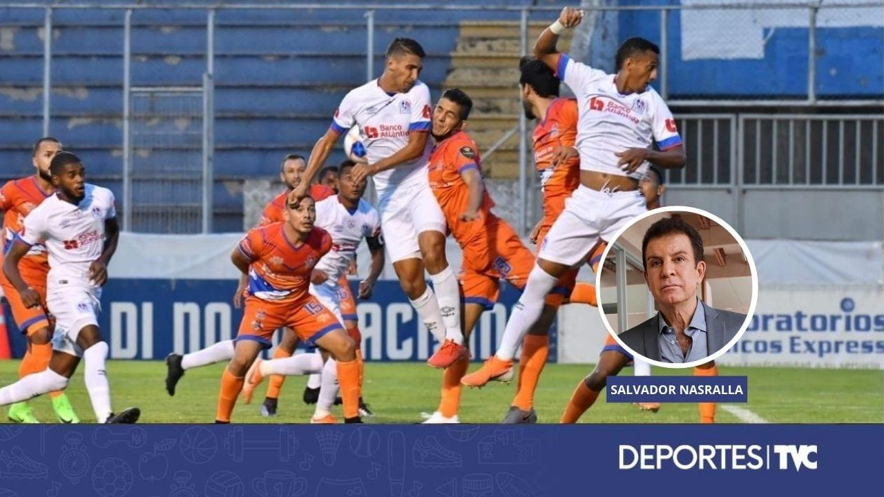 La recomendación que sigue haciendo Salvador Nasralla a los clubes y dirigentes de la Liga 5 Estrellas