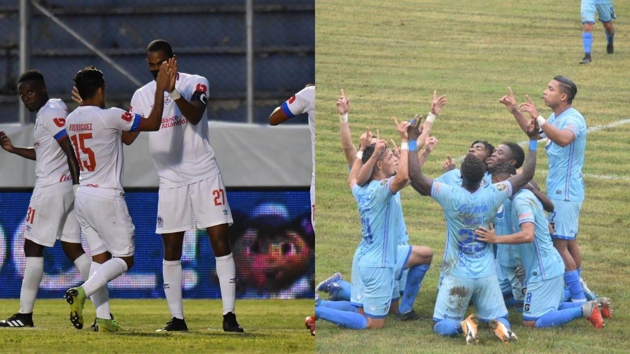 Este es el posible 11 titular de Olimpia y Motagua para el partido de Liga Concacaf