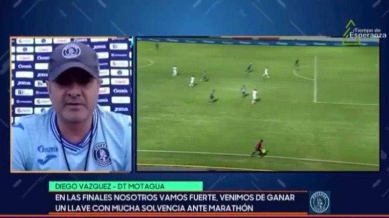 Diego Vazquez asegura que en las finales 'Motagua pisa fuerte'