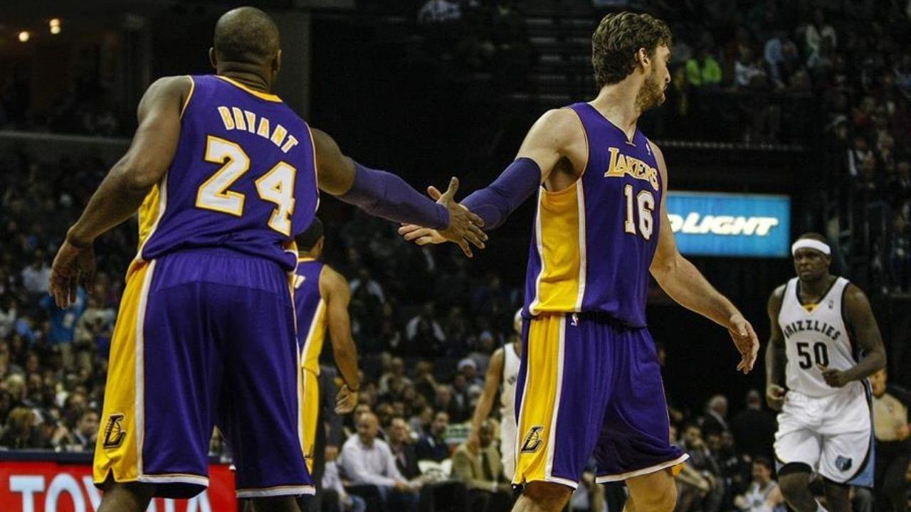 Pau Gasol recuerda a Kobe Bryant en su aniversario: Te echo de menos, hermano