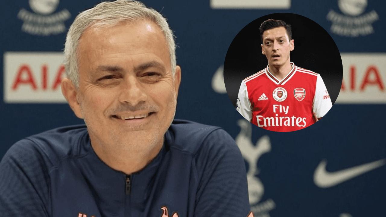 Mesut Ozil dijo preferir retirarse en lugar de jugar en Tottenham y Mourinho le manda un claro y directo mensaje