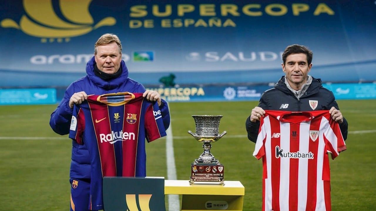 Con Messi como duda, Barcelona busca la Supercopa de España ante el Athletic Bilbao
