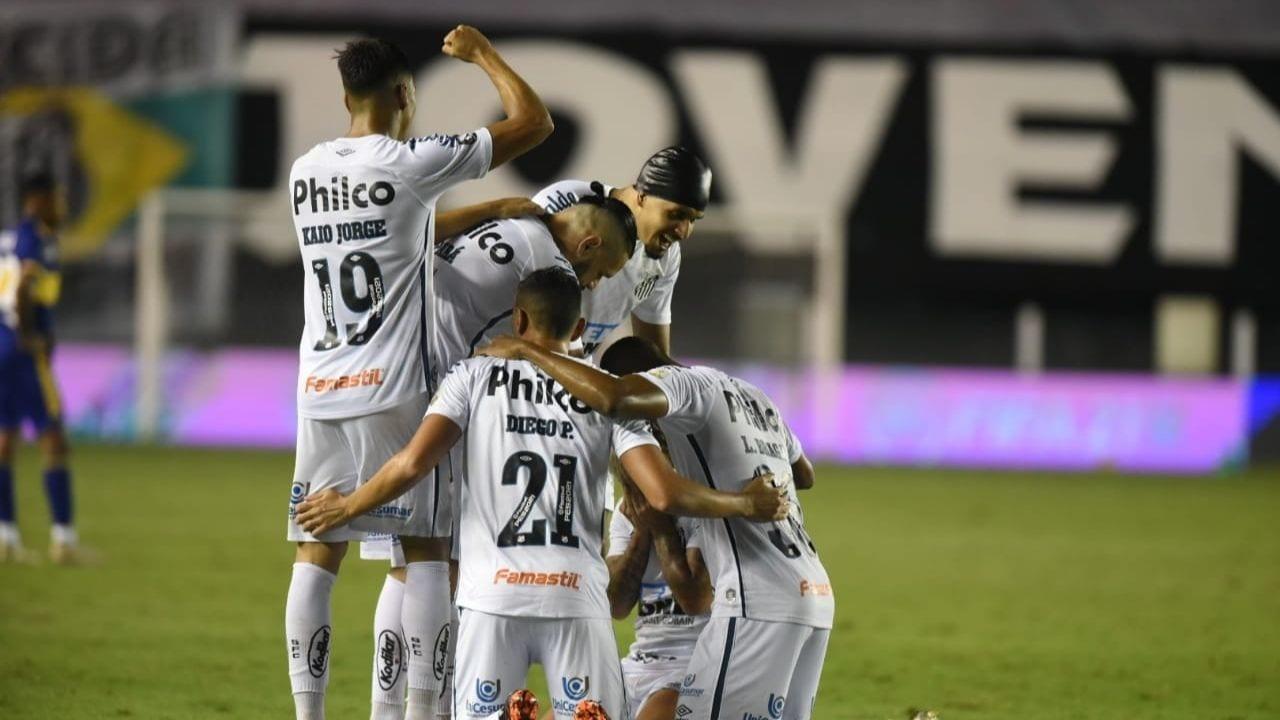 Santos liquidó a Boca Juniors y firma final brasileña en Copa Libertadores