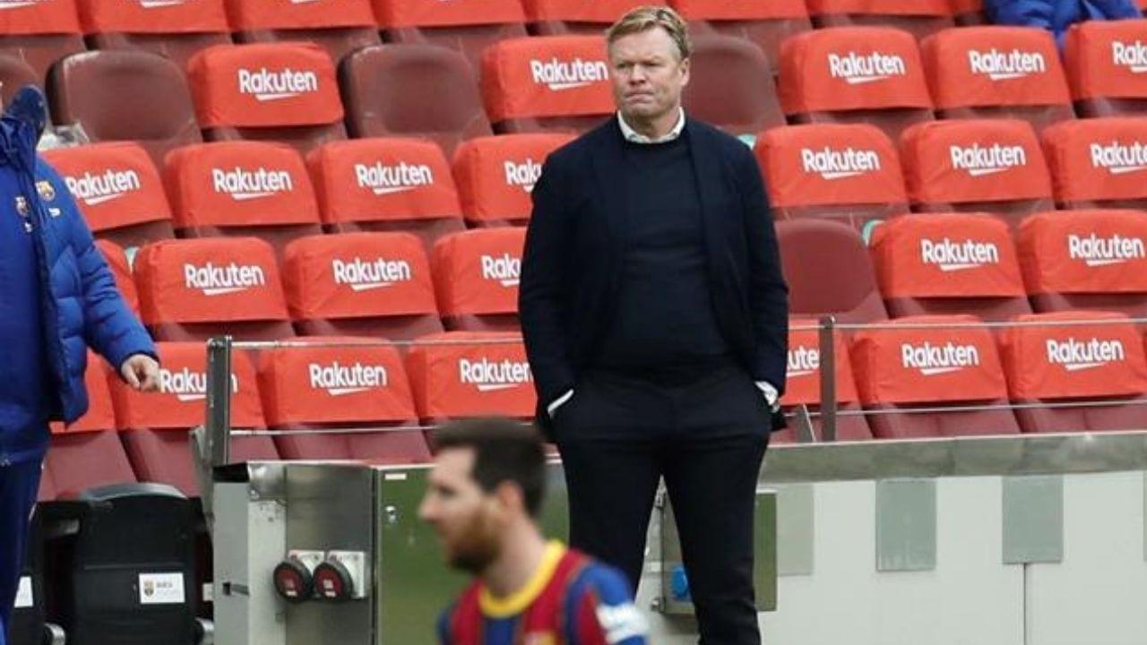 Koeman dice que la derrota en Cádiz lo tiene 'muy decepcionado, quizá más todavía que el martes'