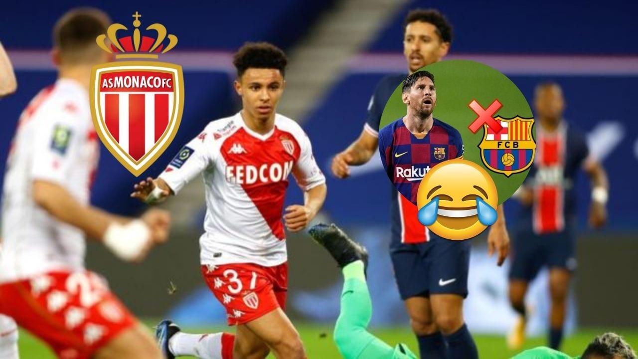 AS Mónaco vence al PSG y aprovecha para vacilar en redes sociales al Barcelona