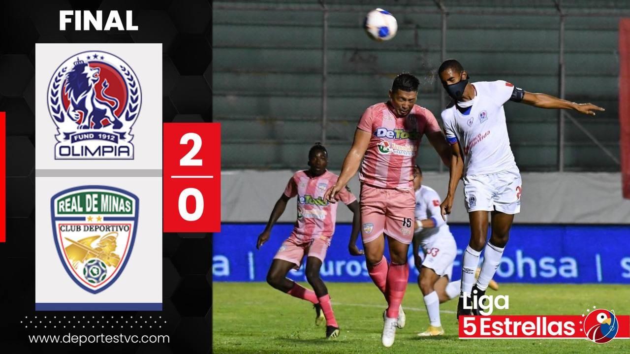 Olimpia consigue la «Paz» en un partido aguerrido ante Real de Minas