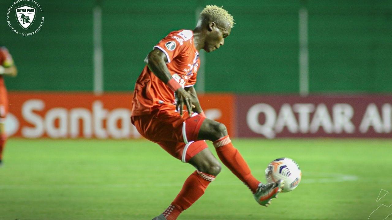 Rubilio Castillo se estrena con gol en la Copa Libertadores