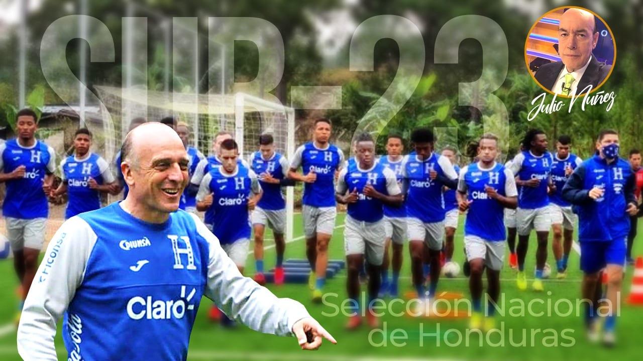 Para la Selección de Honduras es fundamental los primeros dos partidos en el Preolímpico