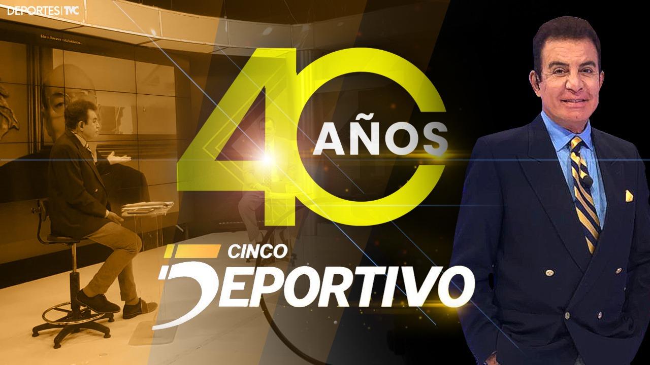 Cinco Deportivo cumple cuatro décadas y Salvador Nasralla cuenta la historia de su inicio