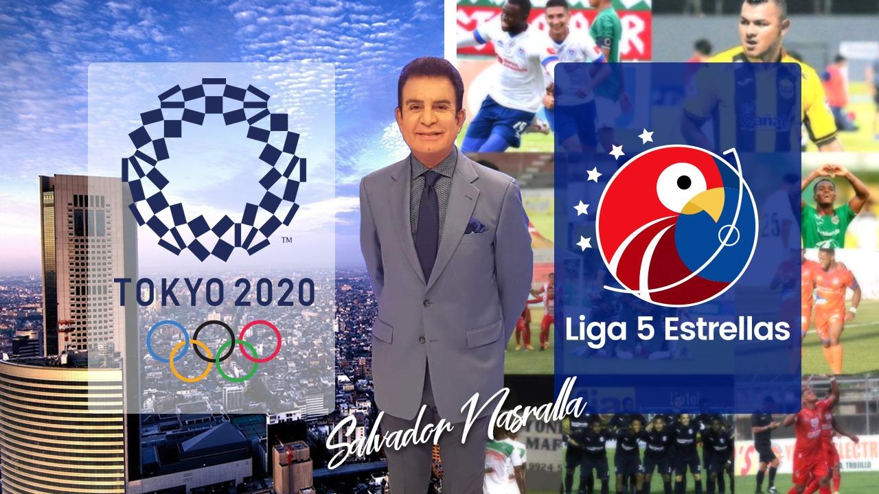 Salvador Nasralla vislumbra el panorama de la Sub-23 en Tokio y la crítica en el cierre de la Liga 5 Estrellas