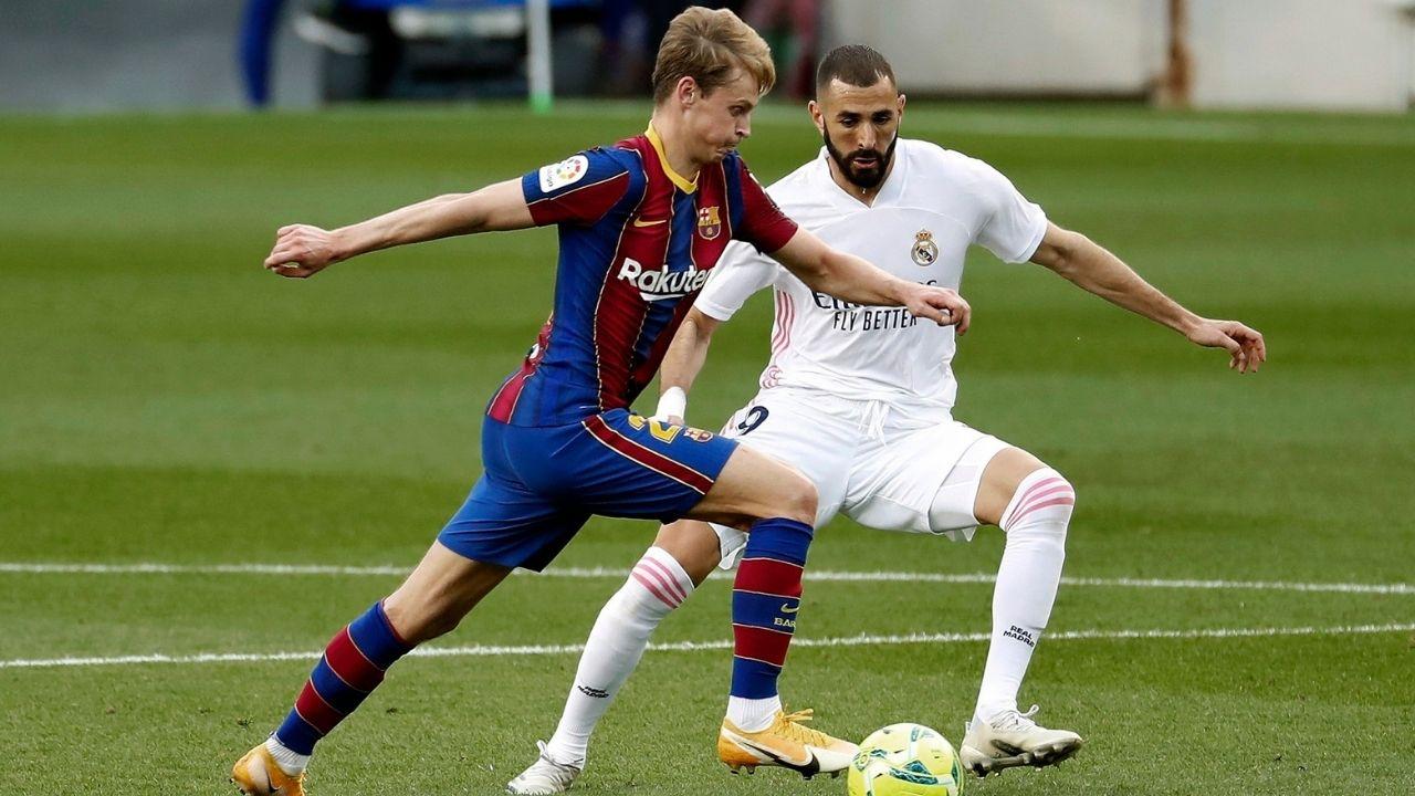 Benzema ya sabe cómo esperar al Barcelona en el Clásico español y así se refiere de Messi