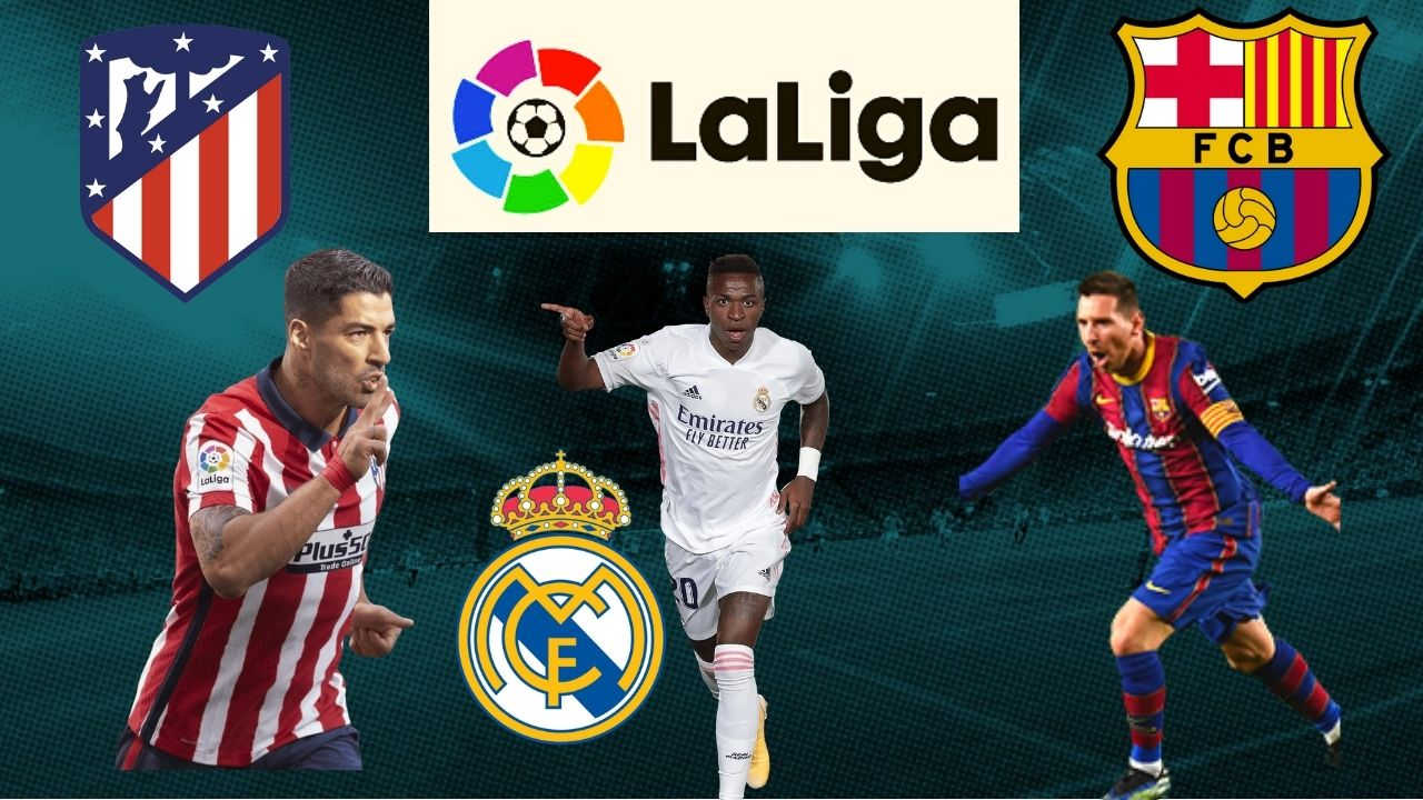 Los ocho partidos que restan para definir al campeón de la Liga Española
