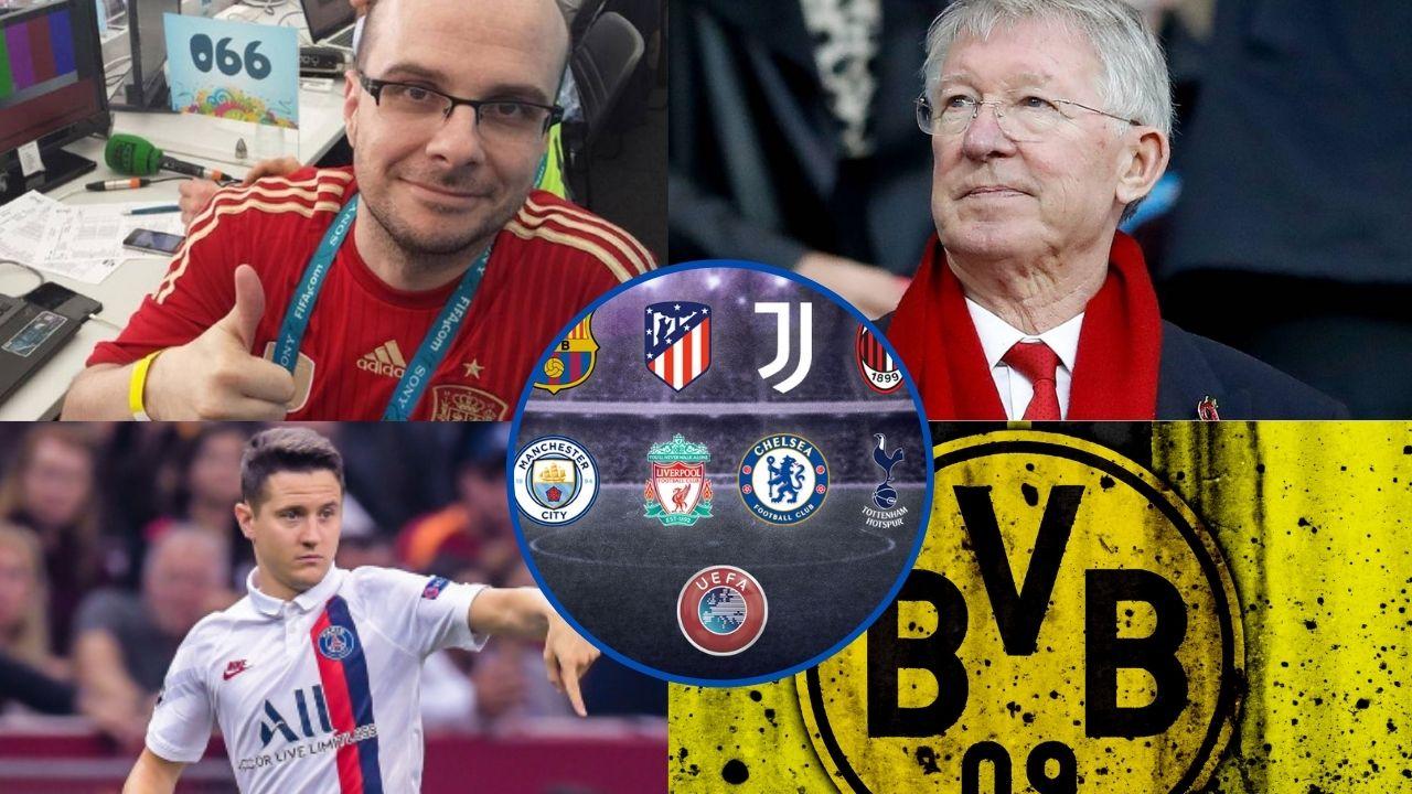 Figuras del fútbol mundial se posicionan en contra de la Superliga Europea