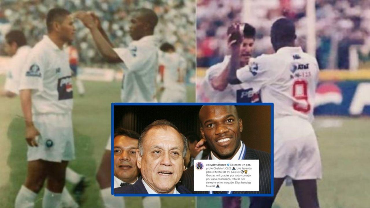 El recuerdo histórico del debut de David Suazo con el memorable comentario de Chelato Uclés