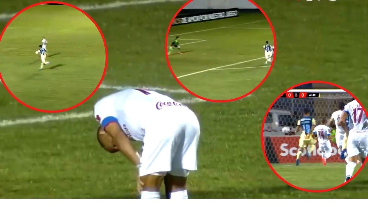 El terrible fallo del Topo Aguirre con el que Olimpia pudo abrir el marcador ante el América