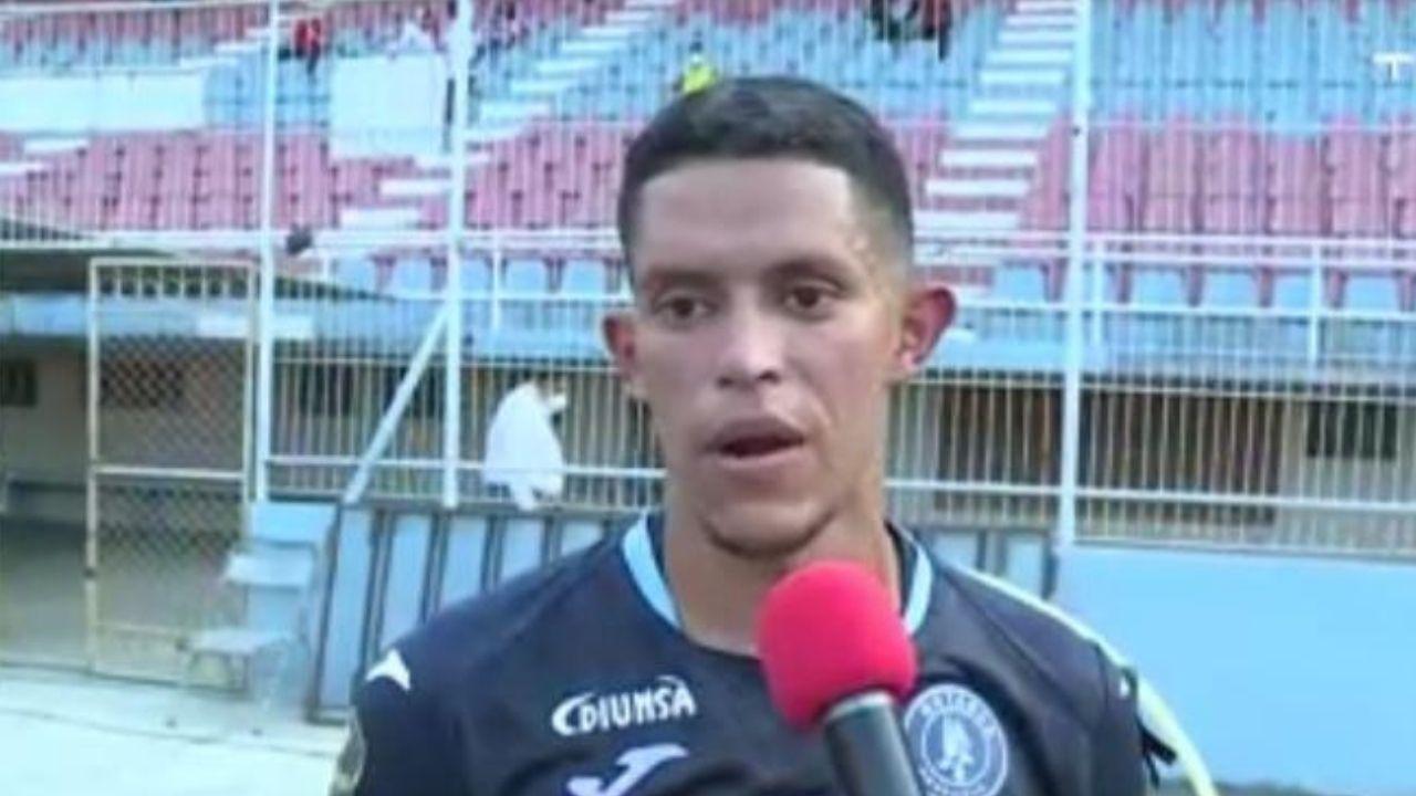 Jesse Moncada explicó la jugada de su gol y espera obtener la clasificación en Tegucigalpa