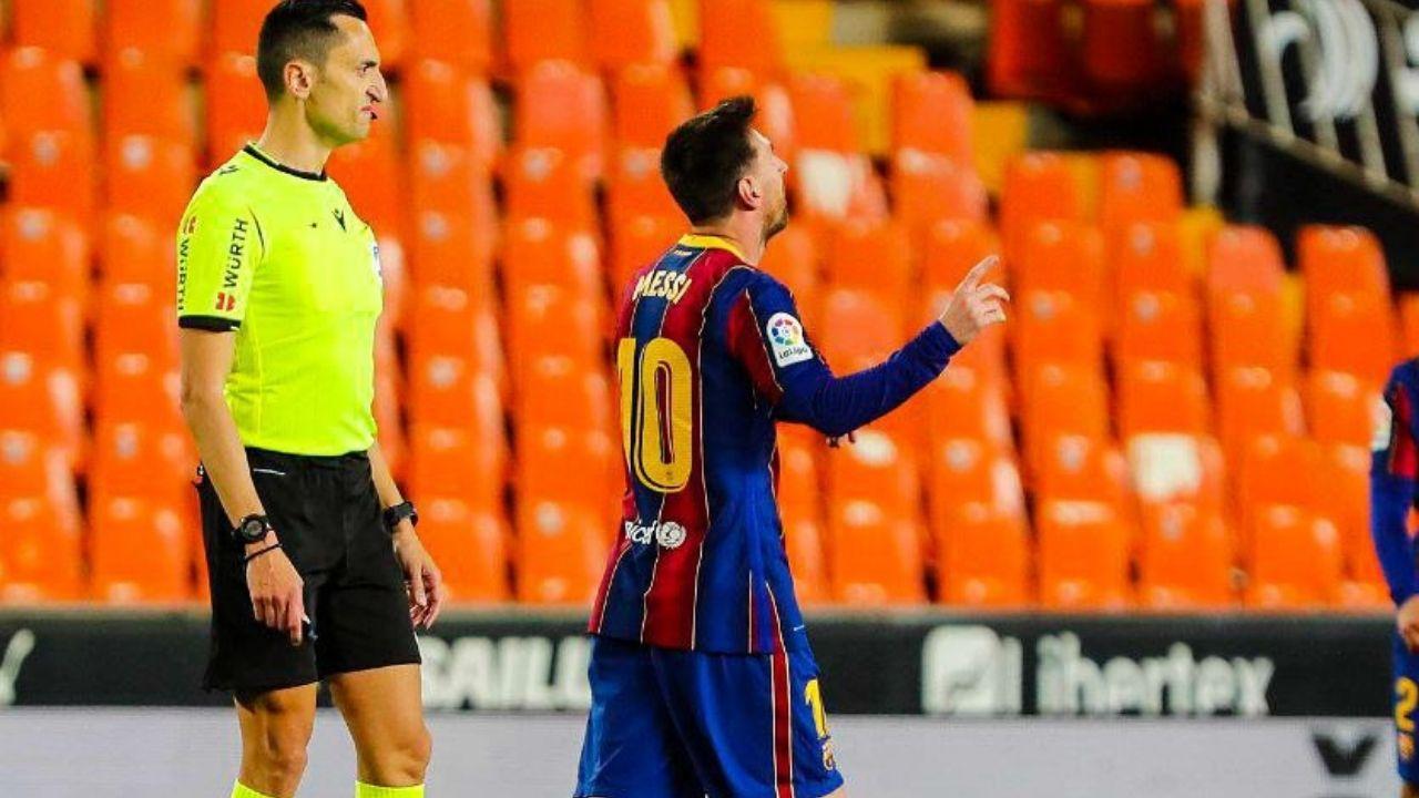Messi se encamina a quedarse con el Pichichi de la Liga a cuatro jornadas del final