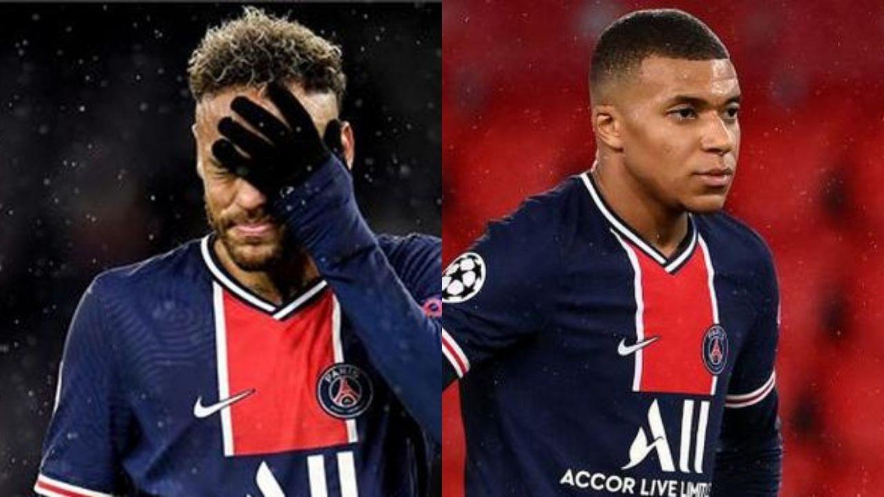 Neymar y Mbappé con su futuro en aire tras fracaso en Champions del PSG