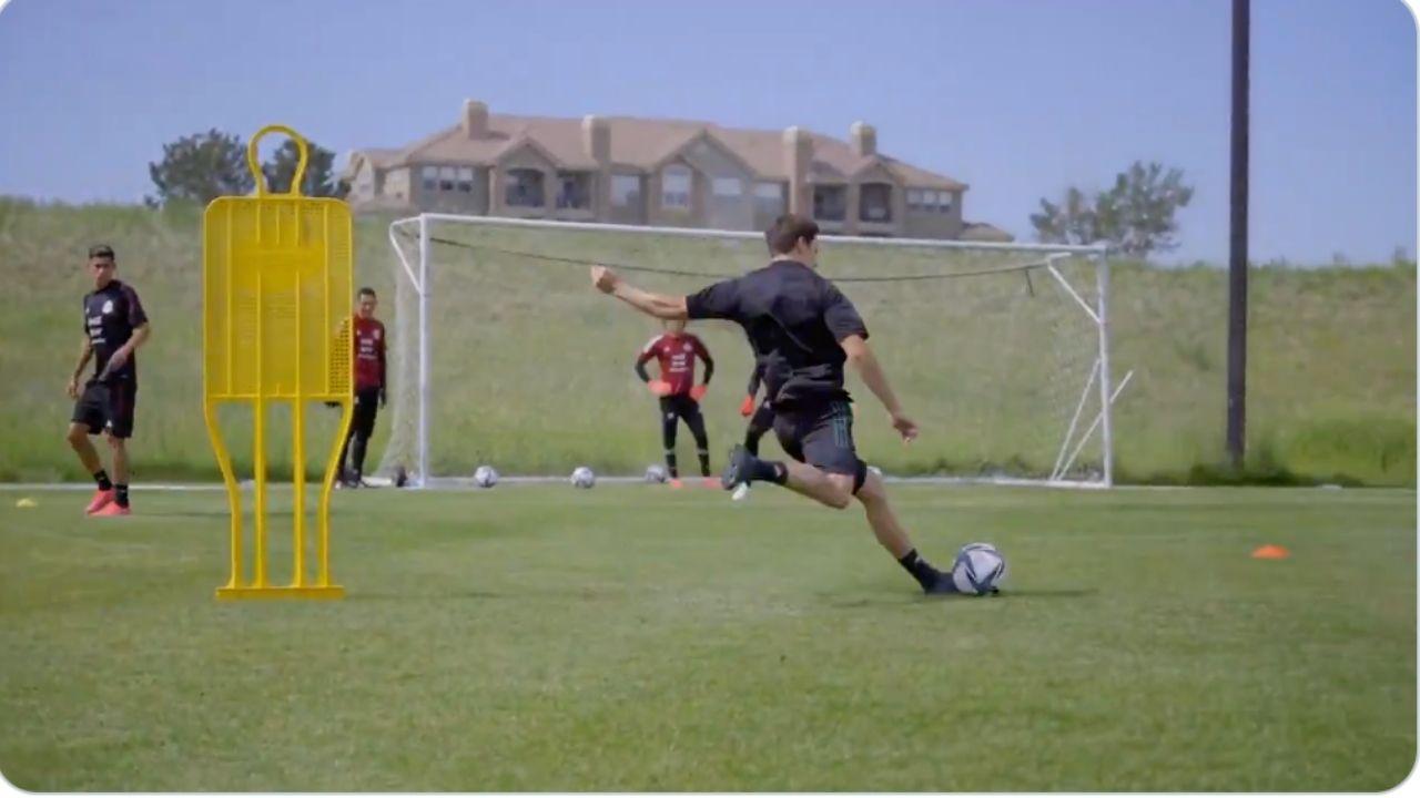 Selección de México afinó su puntería previo al partido ante Honduras en Atlanta