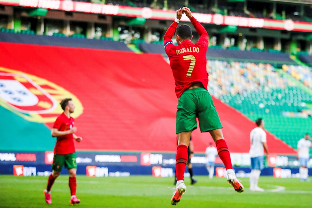 Cristiano Ronaldo y Portugal golean y van motivados a buscar su segunda Eurocopa