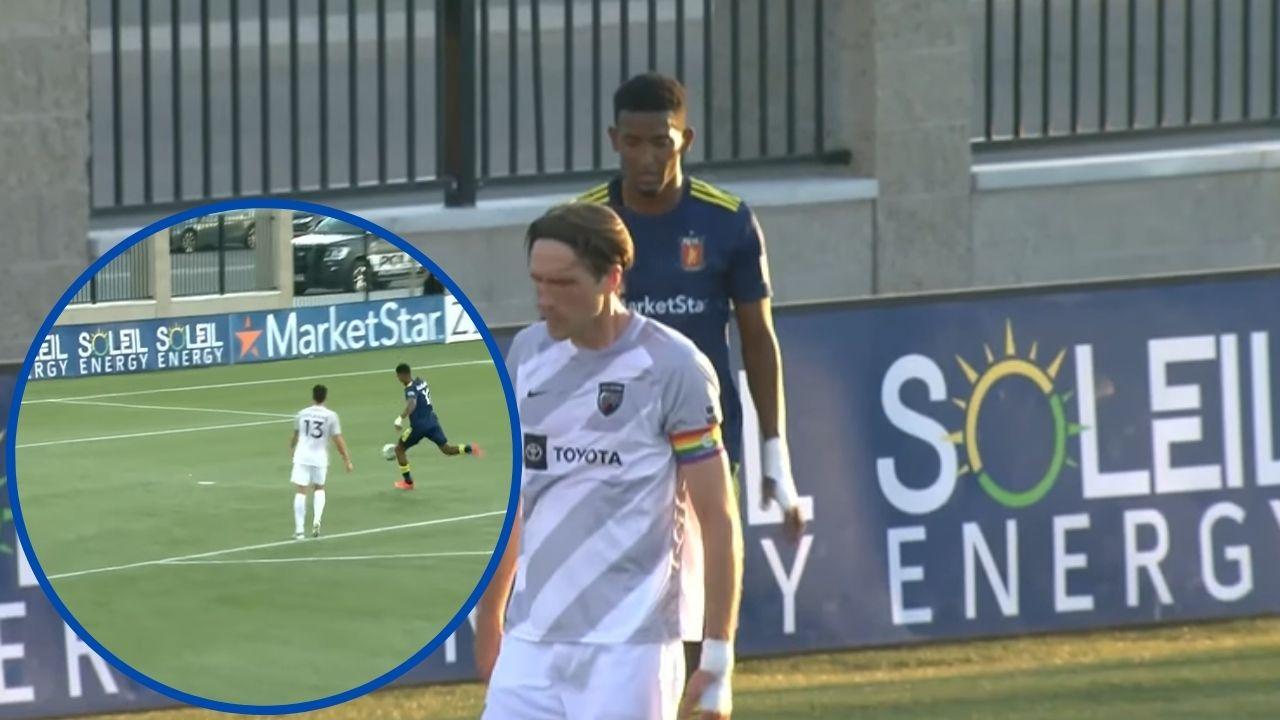 Douglas Martínez se reencuentra con el gol en Estados Unidos con el Real Monarchs