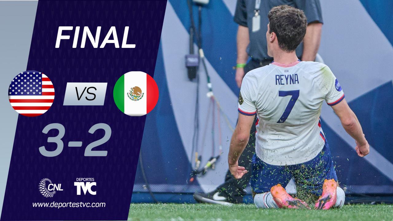 ¡Generación dorada! Estados Unidos vence a México y es el primer Campeón de la Liga de Naciones de Concacaf