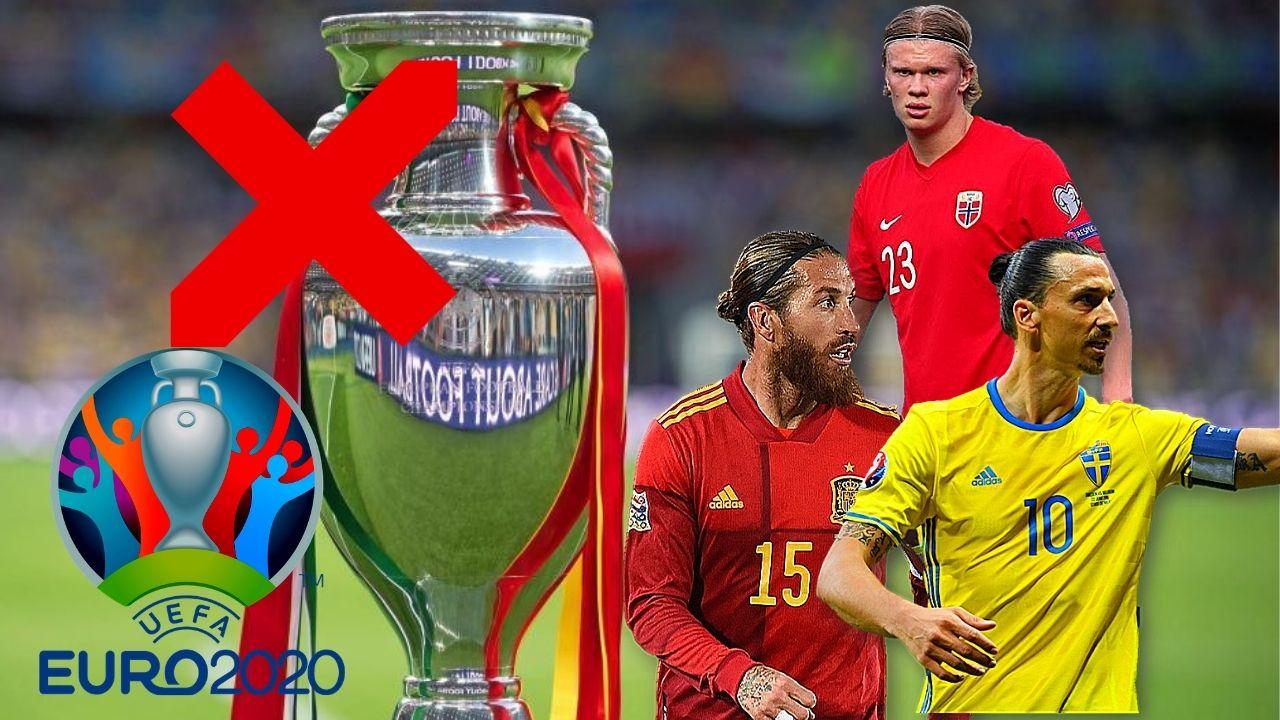 Los 10 grandes ausentes de la Eurocopa 2020