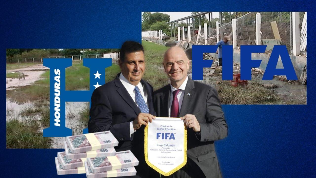 FIFA donará más 12 millones de Lempiras a Fenafuth y así lo utilizarán