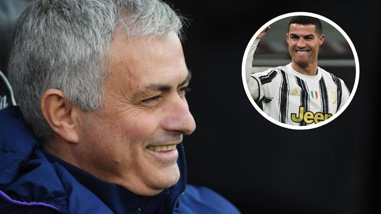 ¿Amenaza o elogio? Mourinho pide a Cristiano irse de Italia y 'dejarlo en paz'