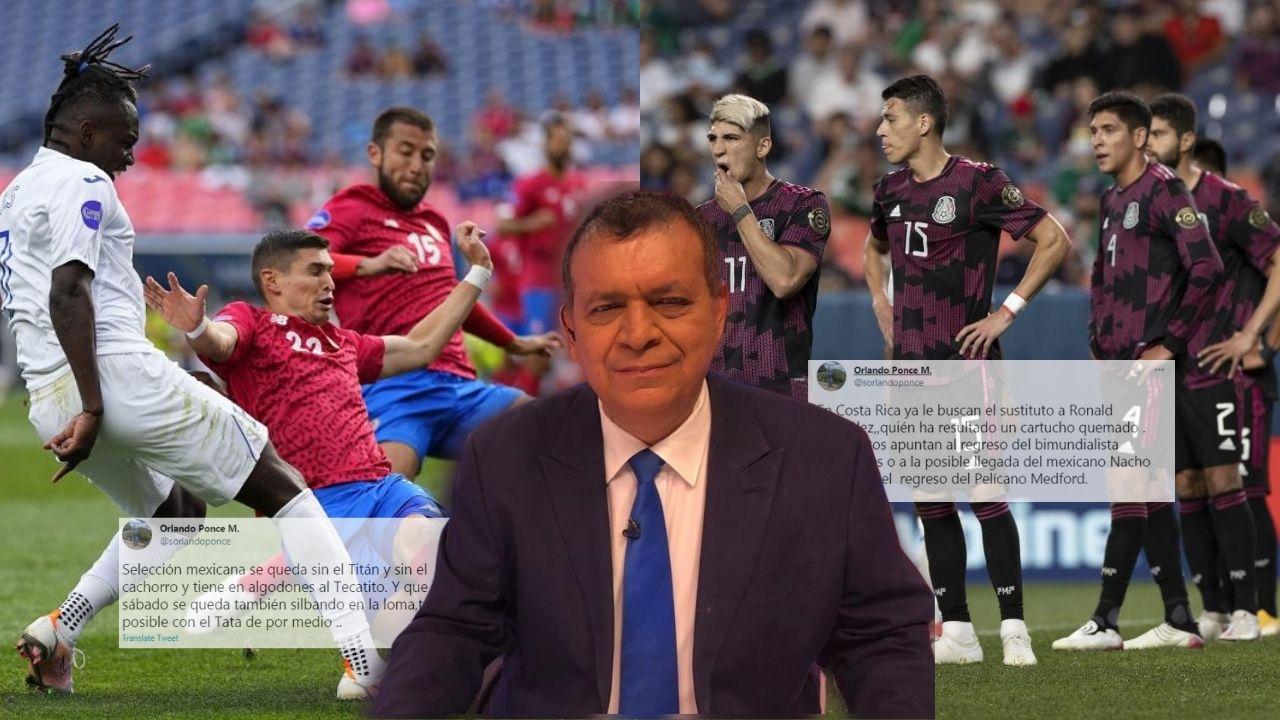 Los bombazos de Orlando Ponce sobre la actualidad de la selecciones de Concacaf