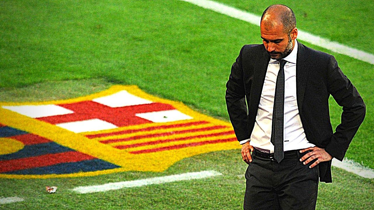 Pep Guardiola volverá al Camp Nou para un partido especial