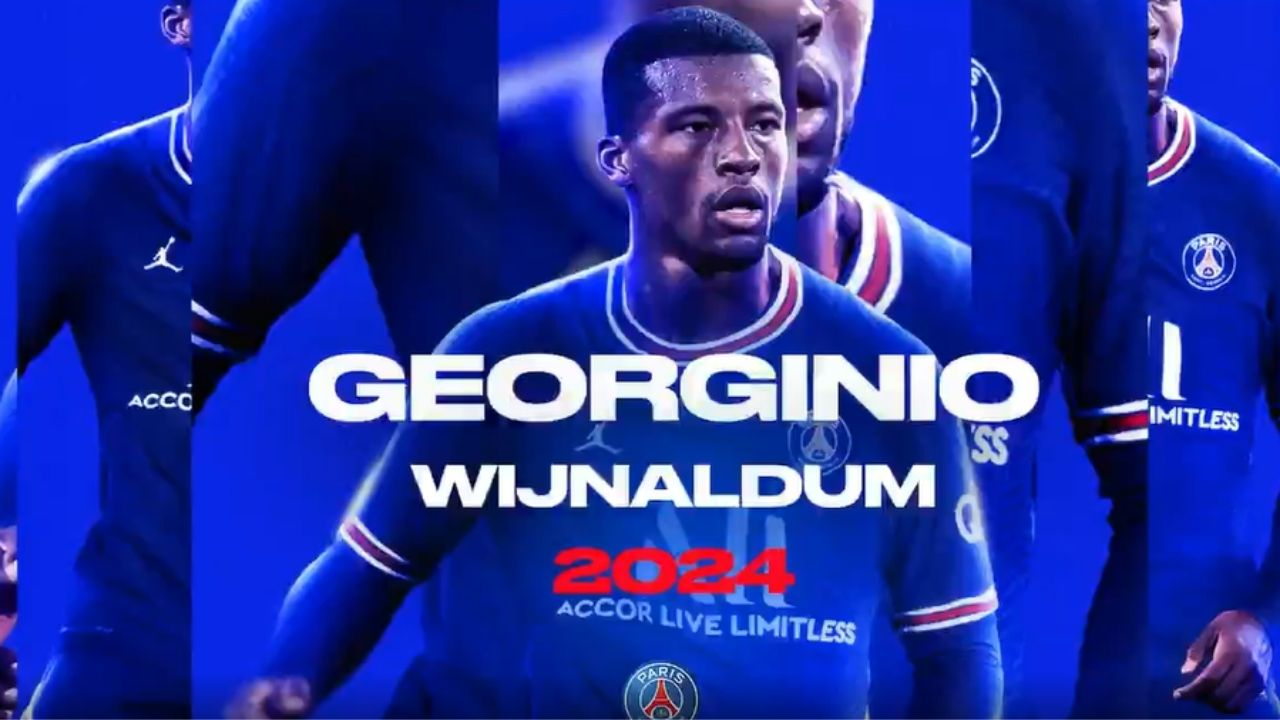 PSG ficha a Georginio Wijnaldum, quien se olvida del Barcelona