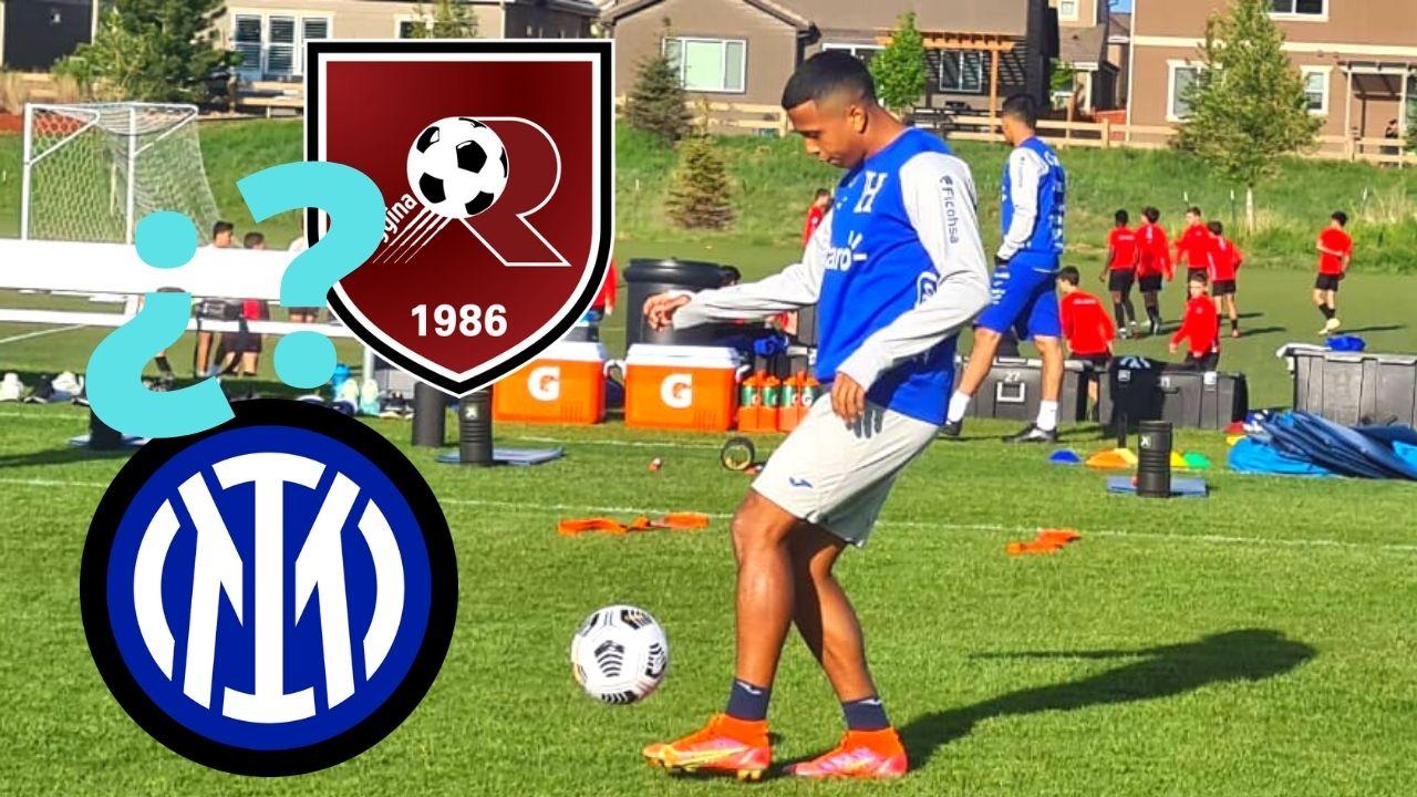 Reggina e Inter de Milán se reunieron por Rigoberto Rivas